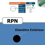 Courroie ronde RPN 9 mm