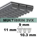 3VX500x3 Brins