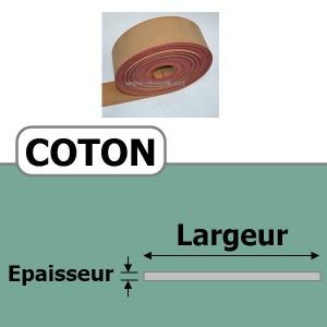 COURROIE COTON 60 mm x 4 Plis