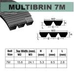 7M1250x3 Brins PU