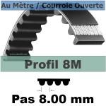 8M40 mm Fibre Verre