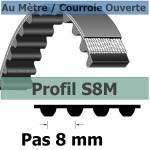 S8M15 mm Fibre Verre