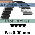 8M-GT3-10 mm Acier