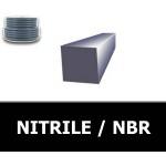 CARRE 4.00 mm NBR/NITRILE 80