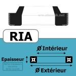 10X16X3/4.5 RIA 490