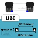 45X55X7/8 UBI FPM UB666