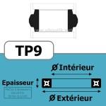 70x58x20.5x4 TP9 NBR