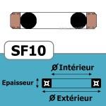 8.5x16x3.2 SF10 BRN