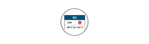 COURROIES RONDES RO orange THERMOSOUDABLES