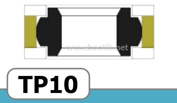 JOINTS TETE DE PISTON FORME<br>TP10
