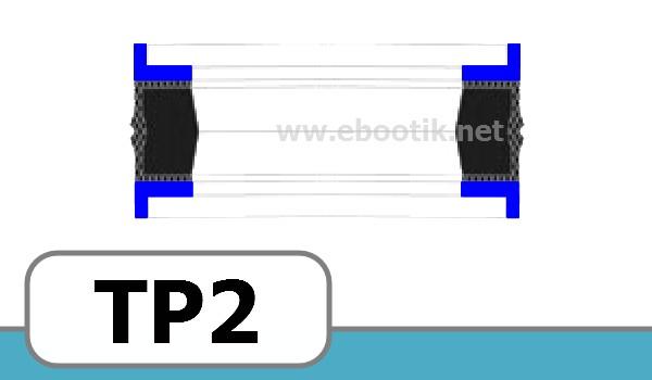 JOINTS TETE DE PISTON FORME<br>TP2