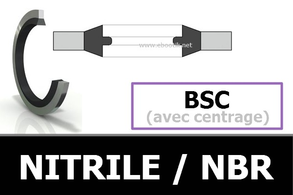 BAGUES BSC NBR / NITRILE