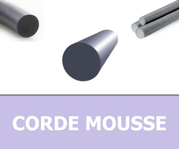 CORDE RONDE MOUSSE