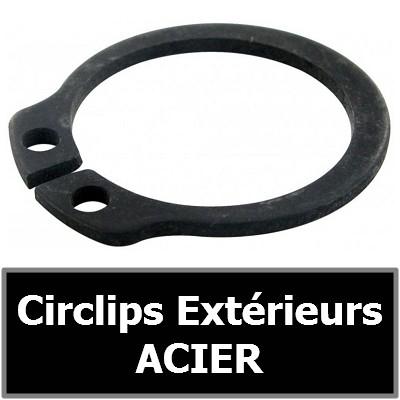 CIRCLIPS EXTERIEURS ACIER