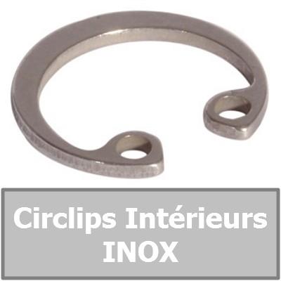 CIRCLIPS INTERIEURS INOX