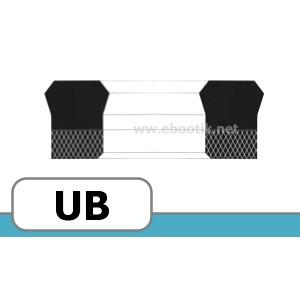 JOINTS FORME UB FPM / VITON+TEXTILE