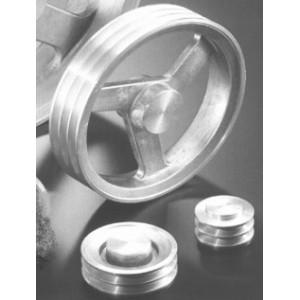 POULIES TRAP B / SPB / XPB (17 mm) ALUMINIUM BRUT