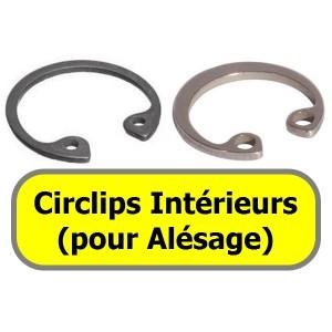 CIRCLIPS INTERIEURS (pour alésage)