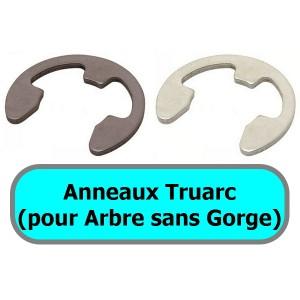 ANNEAUX TRUARC (pour arbre<br>sans gorge)