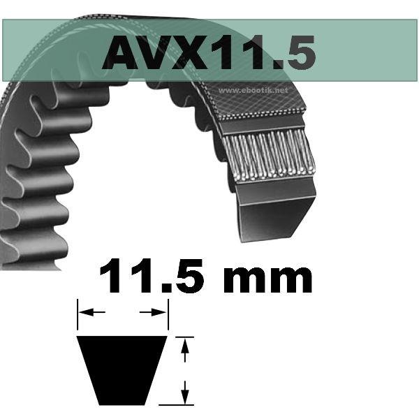 COURROIE AVX11,5x790 mm La/Le