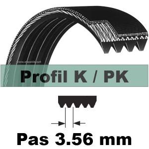 COURROIE 635PK4 Dents AUTOMOBILE