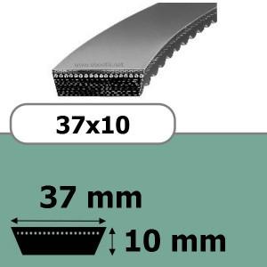 COURROIE VARIATEUR 37x10x2500