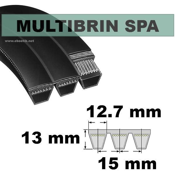 Courroie SPA1250x4 Brins