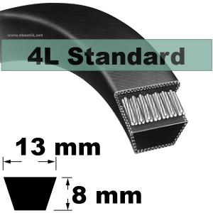 COURROIE 4L1180 STANDARD (NOIRE non Kevlar)