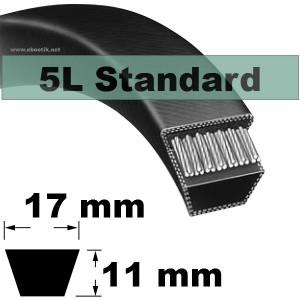 COURROIE 5L370 STANDARD (NOIRE non Kevlar)