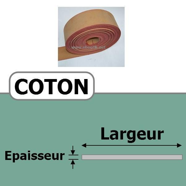 COURROIE COTON 40.00 mm x 3 Plis