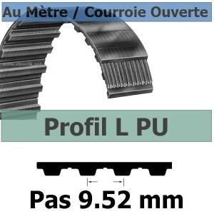 Courroie Crantée/Linéaire L050 KEVLAR POLYURETHANE Vendue au mètre