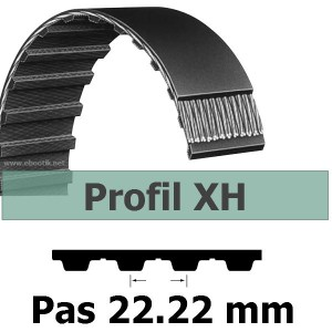 COURROIE DENTEE 560XH200 PAS 22.22 mm / LARGEUR 50.8 mm