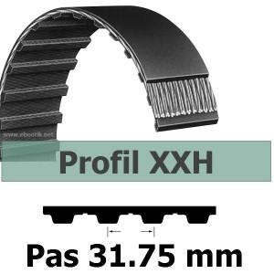 COURROIE DENTEE 1000XXH400 PAS 31.75 mm / LARGEUR 101.6 mm