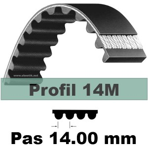COURROIE CRANTEE HTD NEOPRENE 1610 14M 85