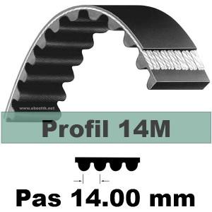 COURROIE CRANTEE HTD NEOPRENE 1890 14M 40