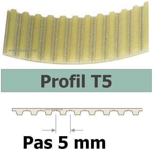 COURROIE CRANTEE 165T5/10 mm