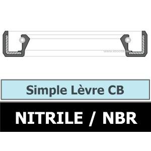JOINT 6.35X12.70X6.35 CB / SIMPLE LEVRE NBR