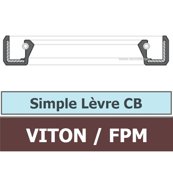 4X12X6 CB FPM/VITON
