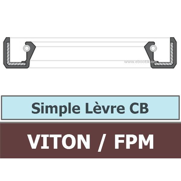 9.52X19.05X6.35 CB FPM/VITON