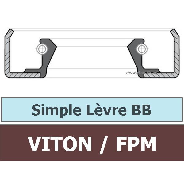 12.70X22.22X6.35 BB FPM/VITON