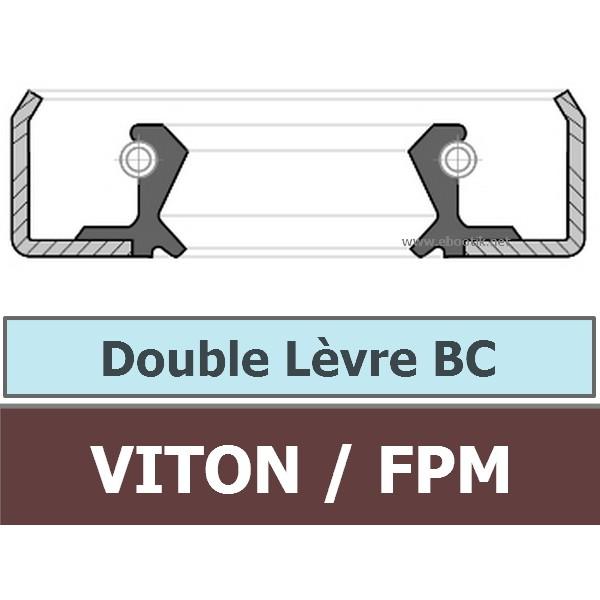 25.40X38.10X6.35 BC FPM/VITON