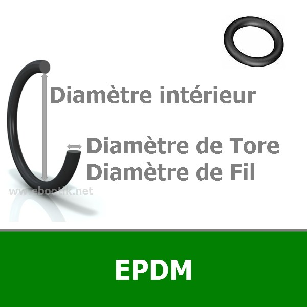 JOINT TORIQUE 1.90x2.55 EPDM 70