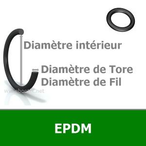 JOINT TORIQUE 2.06x2.62 EPDM 70 AS103