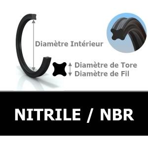 JOINT QUATRE LOBES XR 1.42x1.52 NBR 70 N4003