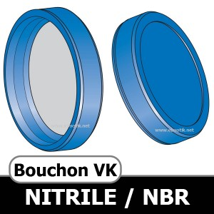 BOUCHON VK 13x4.5 NBR