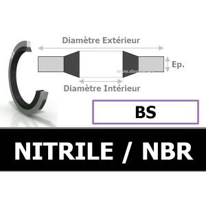 BAGUE BS 6.70x11.00x1.00 AS6 / 207 NBR
