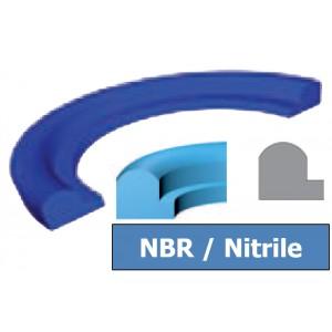 Joint Aseptique HS-12 66.5x81x6 mm NBR Bleu DN65