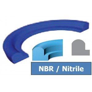 Joint Aseptique HS-12 125x142x7 mm NBR Bleu DN125
