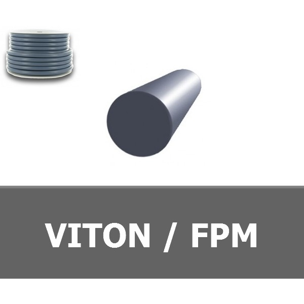 CORDE RONDE 6.00 mm FPM/VITON 70 SHORES