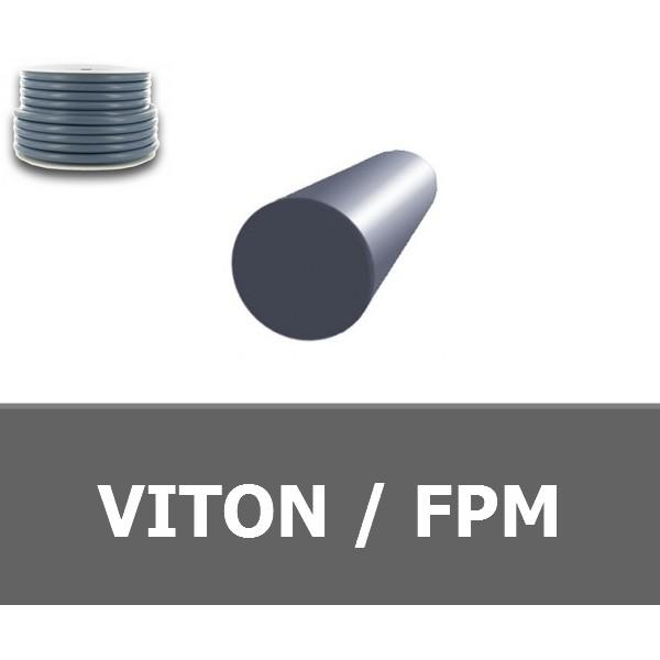 CORDE RONDE 6.00 mm FPM/VITON 80 SHORES VERT